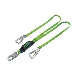 Miller® BackBiter® Tie-Back Shock-Absorbing Lanyard, Twin Leg