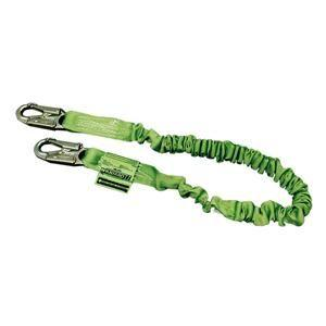 Miller® Manyard® Lanyard, Single Leg w/ Locking Snap Hook, 6'