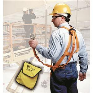 Miller® Titan® Aerial Lift Fall Protection Kit, 6', Small