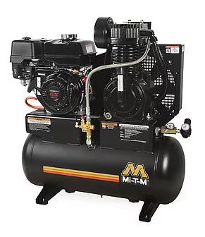Mi-T-M 20 Gallon Two Stage Gasoline Air Compressor