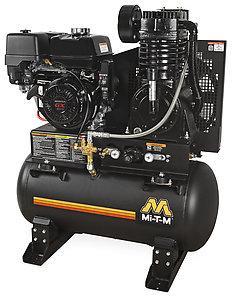 Mi-T-M 30 Gallon Two Stage Gasoline Air Compressor