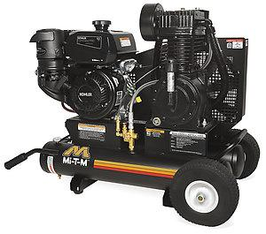 Mi-T-M 8 Gallon Two Stage Gasoline Air Compressor - Kohler Engine