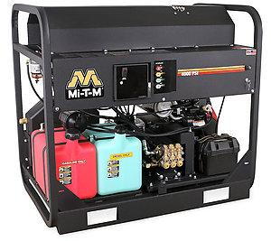 Mi-T-M HS Series 4000 PSI Hot Water Gasoline Belt Drive Pressure Washer