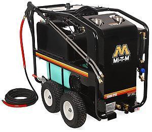 Mi-T-M HSE Series 2500 PSI Hot Water Electric Belt Drive Pressure Washer