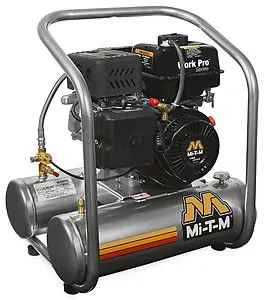 Mi-T-M Work Pro® 5 Gallon Single Stage Gasoline Air Compressor - Mi-T-M Engine
