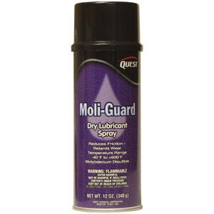 Moli-Guard Dry Lubricant Spray, 12 oz Aerosol