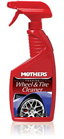 Mothers Wax & Polish Foaming Wheel & Tire Cleaner, 24 oz.