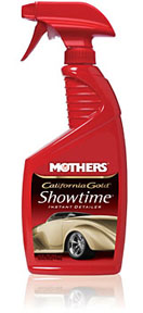 Mothers Wax & Polish Instant Detailer, Silicone Free, 24oz.