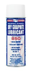 MRO Solution 850 – DRY GRAPHITE LUBRICANT 12 oz Aerosol