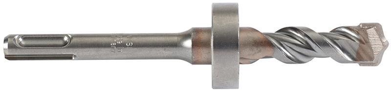 Mutual Screw 3/8  SDS Plus Stop Drill Bit - 1-1/16 Drilling Depth