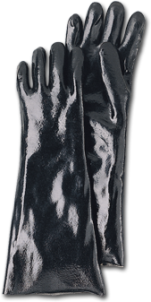 Mutual YP1800 - 18 (Elbow Length) Heavy duty PVC Coated Glove