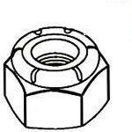 Nylon Insert Aluminum Lock Nuts