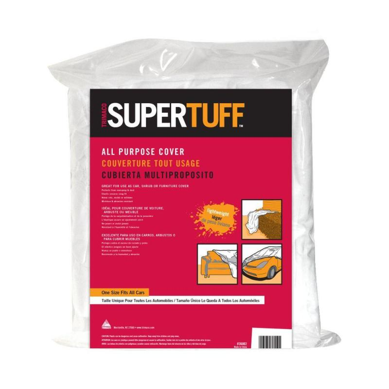 ONE SIZE FITS ALL SUPERTUFF LIGHTWEIGHT PROTECTIVE CAR COVERS
