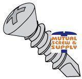 Oval Head Light Duty Steel-To-Steel Teks® Self-Drilling Screws ITW Buildex