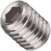 Oval Point 18/8 Stainless Steel Socket Set Screws