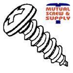 Phillips Pan Head Serrated Steel Zinc Plated Type AB Sheet Metal Screws