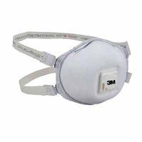 3M Particulate Respirator 8214, N95, Faceseal/Nuisance Level Organic Vapor, 10 per Box