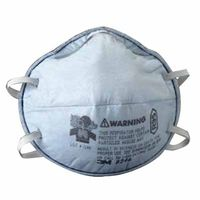 3M Particulate Respirator 8246, R95, with Nuisance Level Acid Gas Relief , 20 per Box