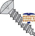 Phillip Oval Undercut Head Steel Zinc Plated Type A Sheet Metal Screws