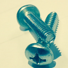 Phillip Pan Head Steel Zinc Plated Tri-lobular TT  Thread Rolling Screws