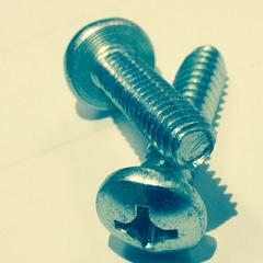 Phillip Pan Head Steel Zinc Plated Tri-lobular TT  Thread Rolling Screws