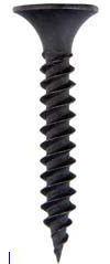 Phillips Bugle Head Fine Thread Drywall Screws Steel Black Phoshate