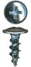 Phillips Drive Round Washer Head Nickel Plated Screws for Wooden Knobs QuickScrews®