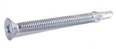 Phillips Flat Head with Wings Machine Screw Threads Self Drilling Screws