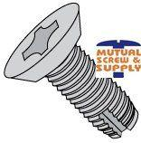 Phillips Flat Undercut Head Steel Brass Plated Thread Cutting Screws for Hinges