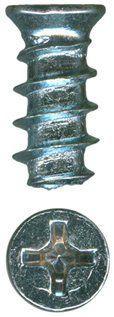 Phillips Flat Zinc European Drawer Slide Screws QuickScrews®