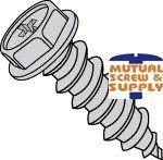 Phillips Indented Hex Washer Head Steel Zinc Plated Type AB Sheet Metal Screws