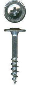 Phillips Large Round Washer Head Zinc Plated Drawer Front Adjusting Screws™ QuickScrews®
