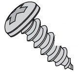 Phillips Pan Head 316 Stainless Steel Type A Sheet Metal Screws