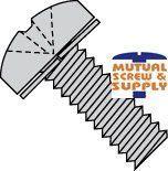 Phillips Pan Head Split Lockwasher 18/8 Stainless Steel Sem Screws