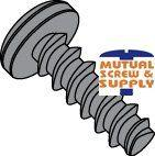 Phillips Pan Head Steel Black Oxide & Waxed Tri-lobular  48-2 Thread Rolling Screws