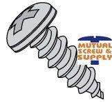 Phillips Pan Head Steel Black Zinc Type AB Sheet Metal Screws