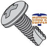 Phillips Pan Head Steel Zinc Plated Type 23 Thread Cutting Screws
