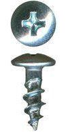Phillips Pan Low Profile Zinc for Ball Bearing Drawer Slide Screws QuickScrews®