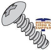 Phillips Truss Head Steel Zinc Plated Type B Sheet Metal Screws