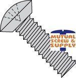 Phillips Undercut Oval Head Steel Zinc Plated Machine Screws