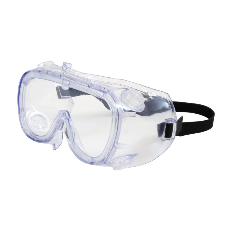 PIP 551 Softsides™ Clear Blue Body & Clear Lens Anti Scratch Coated Indirect Vent Safety Goggles