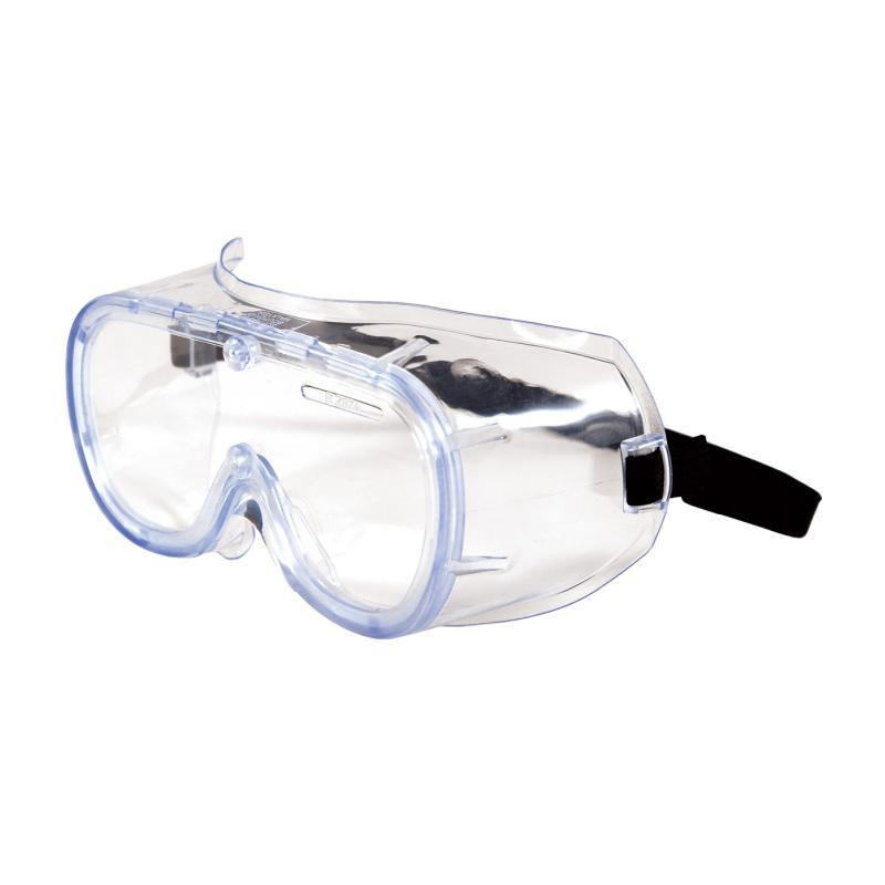 PIP 552 Softsides™ Clear Blue Body & Clear Lens Anti-Fog/Anti-Scratch Coated Non-Vented Safety Goggles