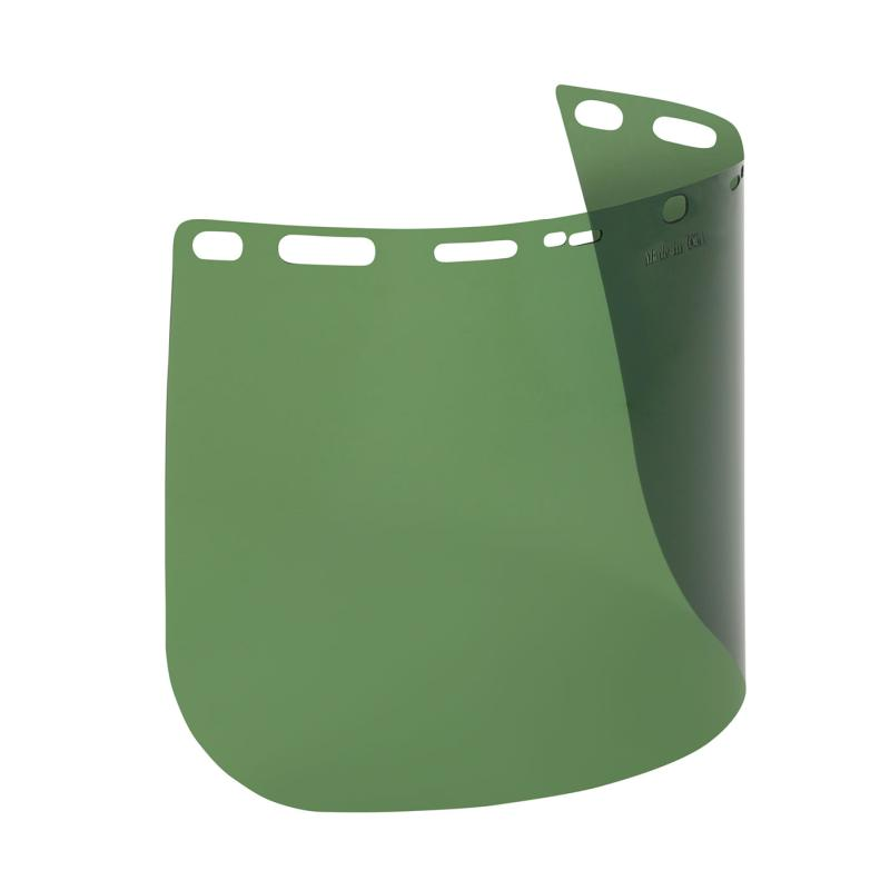 PIP Boutin® Optical Green .040 Thick Universal Fit Polyethylene Terephthalate Glycol Safety Visor