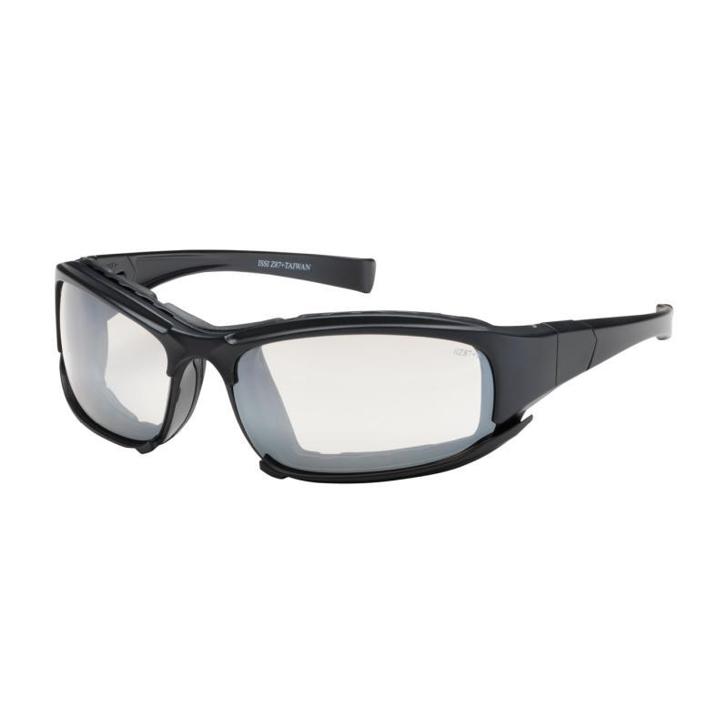 PIP Cefiro™ Clear I/O Anti-Scratch/Fog Coated Lens Black Rubber Foam Padded Full Frame Safety Glasses