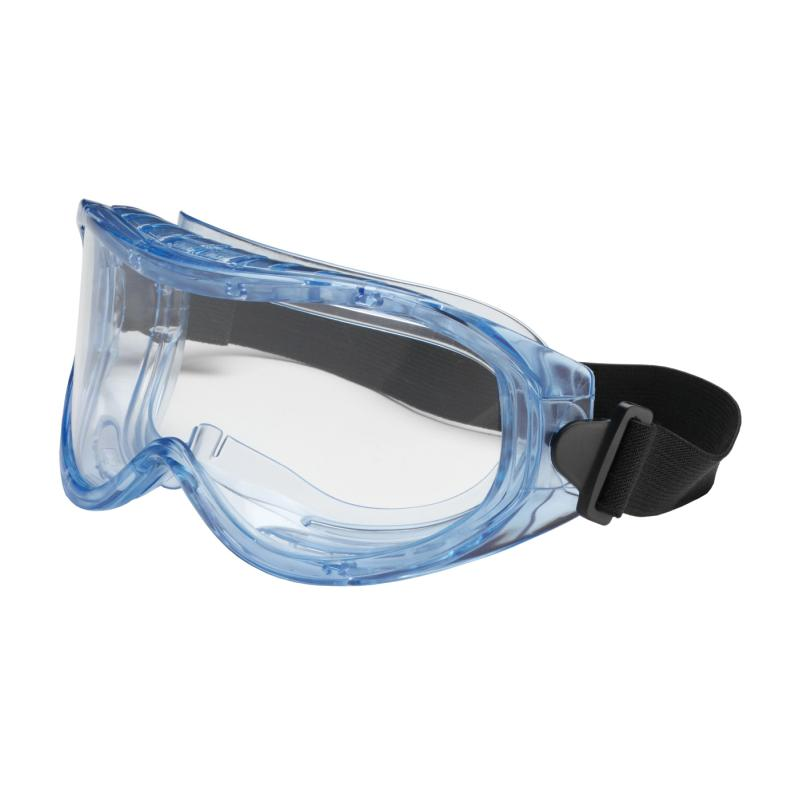 PIP Contempo™ Clear Anti-Scratch Coated Lens Light Blue Body Indirect Vented Safety Goggles