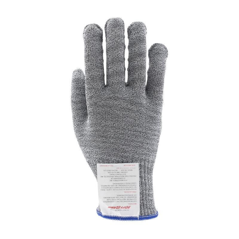 PIP Kut Gard® Gray Large Right Hand Dyneema® Silagrip Coated Palm Cut Resistant Gloves - Medium Weight