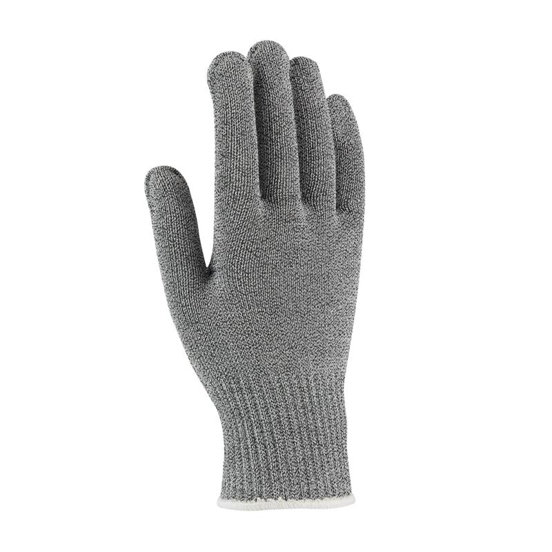 PIP Kut Gard® Gray Seamless Knit Antimicrobial/Dyneema® Stainless Steel Cut Resistant Gloves - Medium Weight