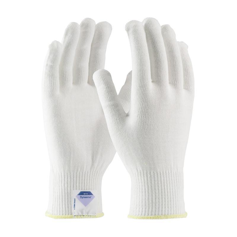 PIP Kut Gard® White 13G Seamless Knit Spun Dyneema® Cut Resistant Gloves - Light Weight