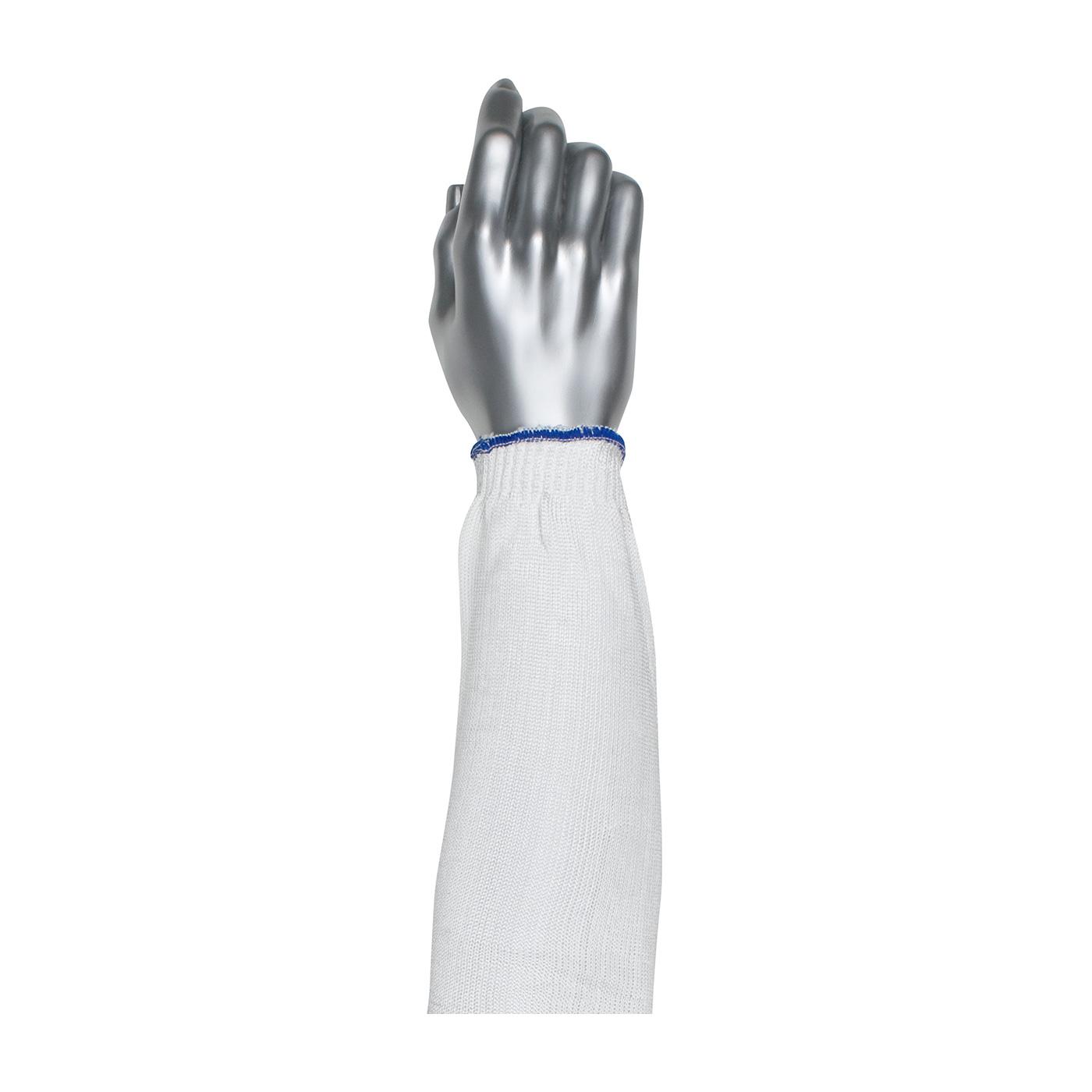 PIP Kut Gard® White Single Ply Seamless Knit Spun Dyneema®/Nylon Blended Sleeve