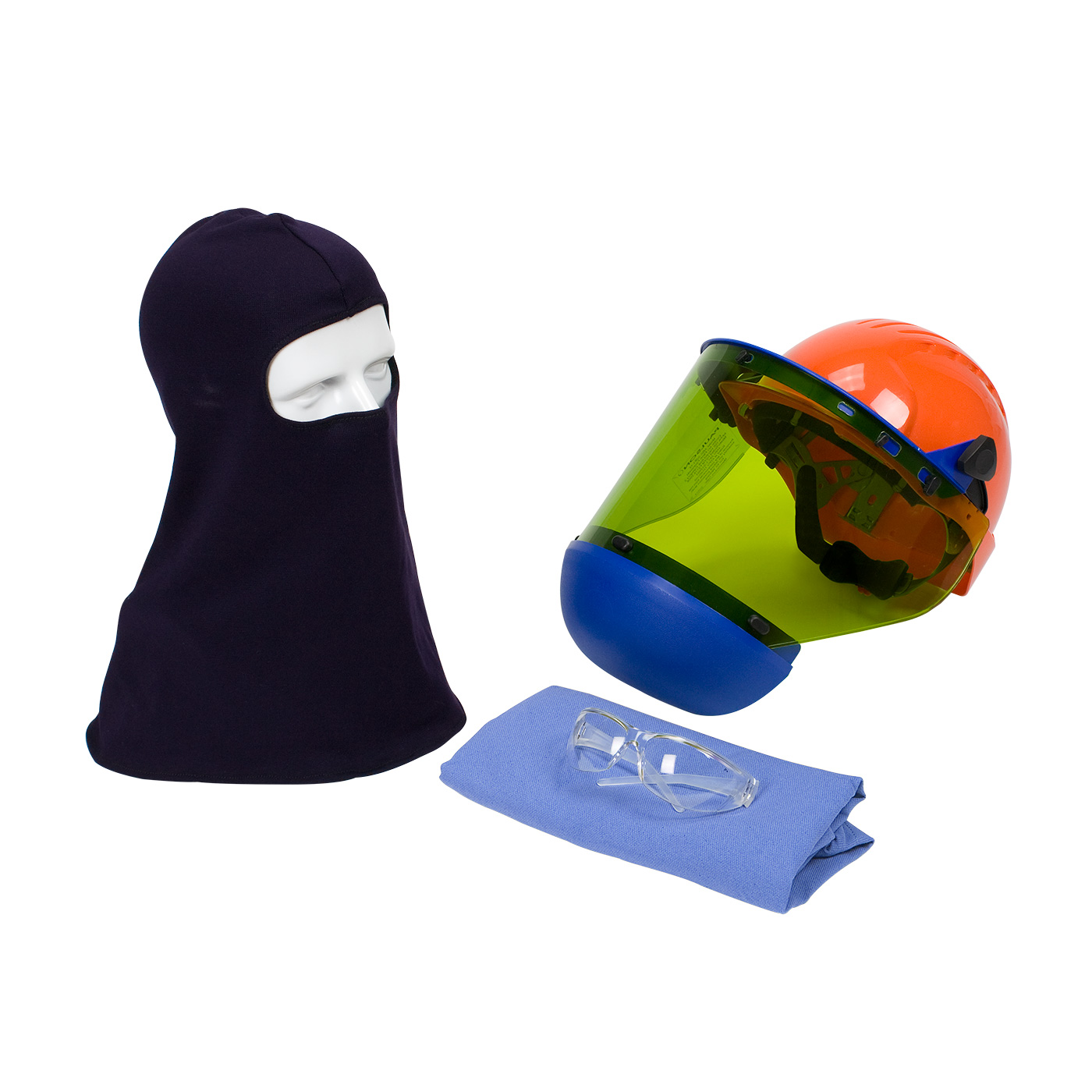 PIP® Navy 12 Cal/cm2 Arc & Flame Resistant Flash Safety Kit - One Size